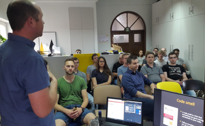 Code Smell Meetup on the horizon!