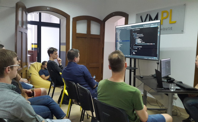 Another online meetup organised by VM.PL - this time in German